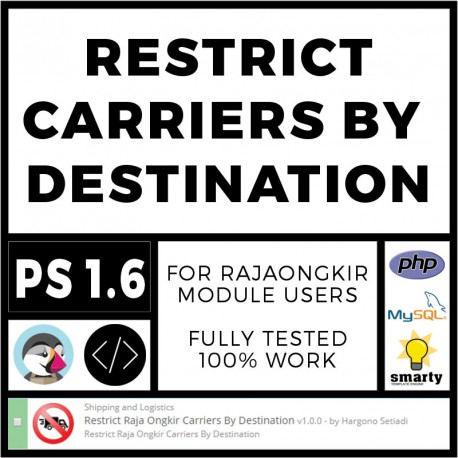 Restrict Carriers By Destination
